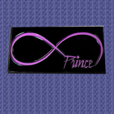 Purple Infinity Glow In The Dark Enamel Pin