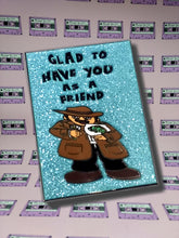 "The Shape Of Water ""Glad To Have You As A Friend"" Enamel Pin"