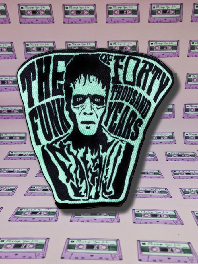 Thriller Killer Iron On Patch