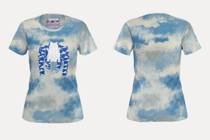 Cloud Jacket Slim Fit Teeshirt *READY TO SHIP THIS LISTING ONLY*