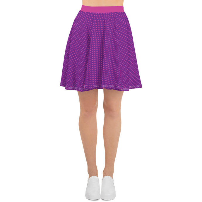 Pretty In Purple and Pink Skater Skirt