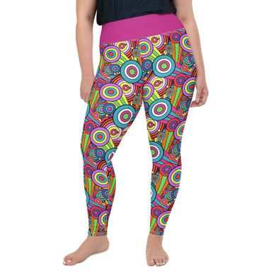 Intergalactic Leggings (Plus Size)