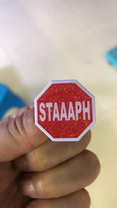 Staaaph Enamel Pin **PRODUCTION ERROR ONES** LOT OF 50!