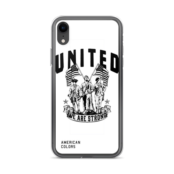 United We Are Strong iPhone Case