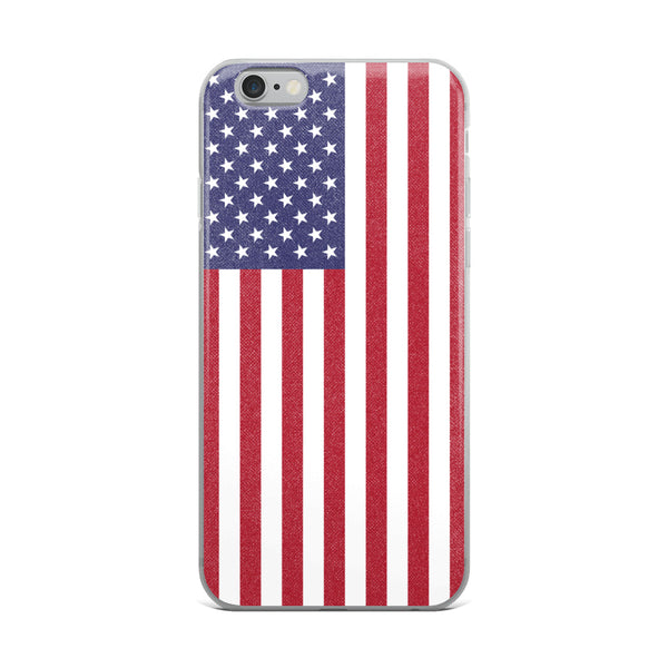 Vintage American Flag iPhone Case