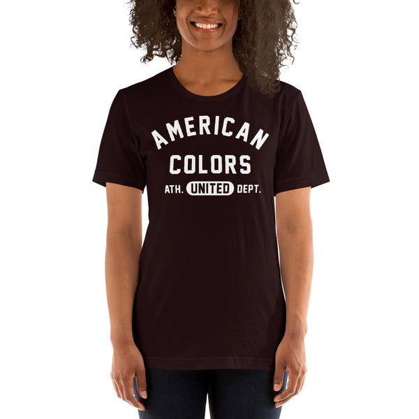American Colors Athletic Dept Tee - unisex