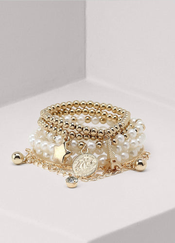 Six In One Bracelet (gold) Bracelets - FIACCI