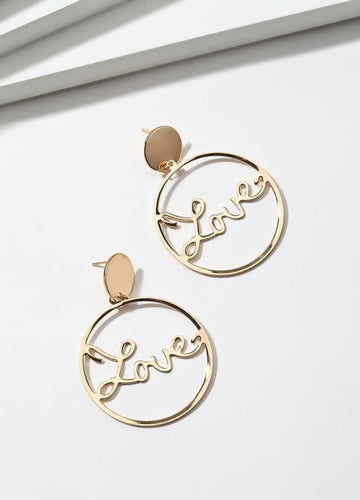 All We Need Is Love Earrings - FIACCI