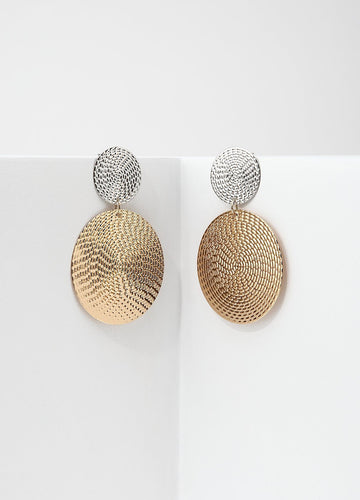 Basket Weave Earring Earrings - FIACCI