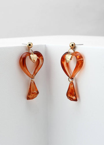 Don't Break My Heart Earrings Earrings - FIACCI