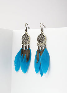 Exotic Dreamcatcher Earrings Earrings - FIACCI