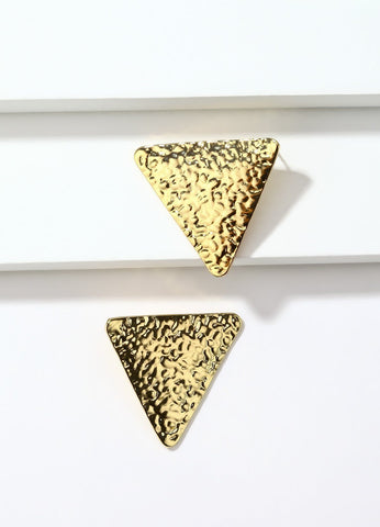 Golden Triangles Earrings - FIACCI