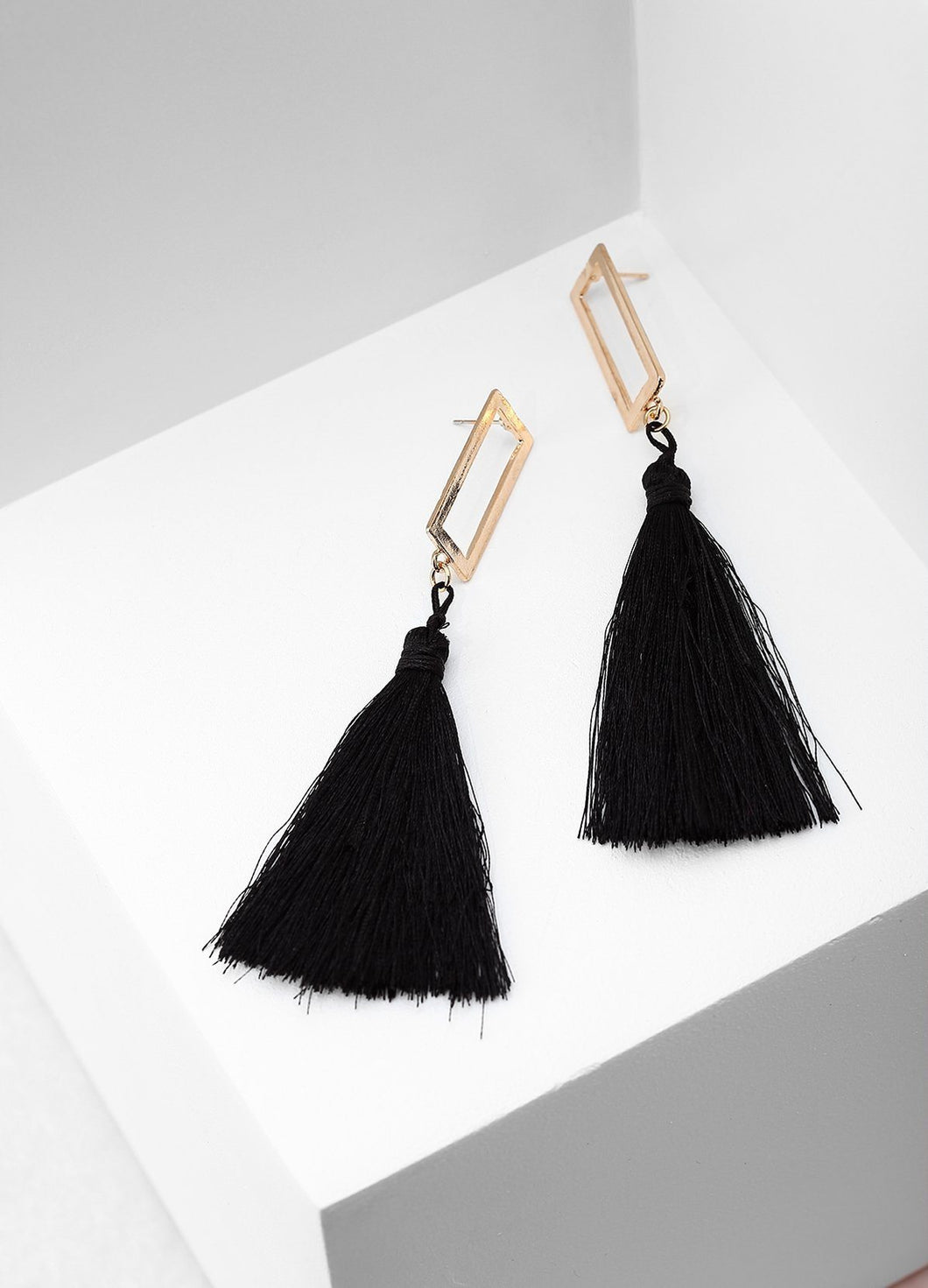 Jungle Paradise Earrings (black) Earrings - FIACCI