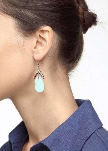 Lucky Turquoise Earrings Earrings - FIACCI