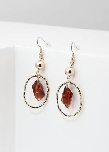 Renaissance Ruby Earrings Earrings - FIACCI