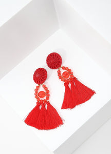 Spanish Dancer Earrings (red) Earrings - FIACCI