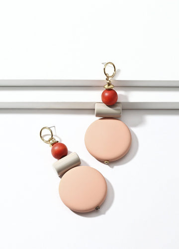 Sweet Candy (soft Pink) Earrings - FIACCI