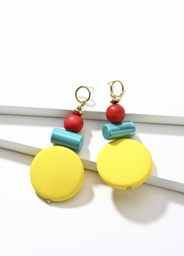 Sweet Candy (yellow) Earrings - FIACCI