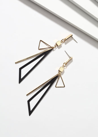 Tuxedo Time (black) Earrings - FIACCI