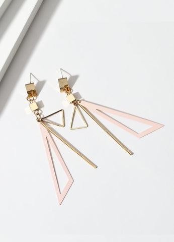 Tuxedo Time (pink) Earrings - FIACCI
