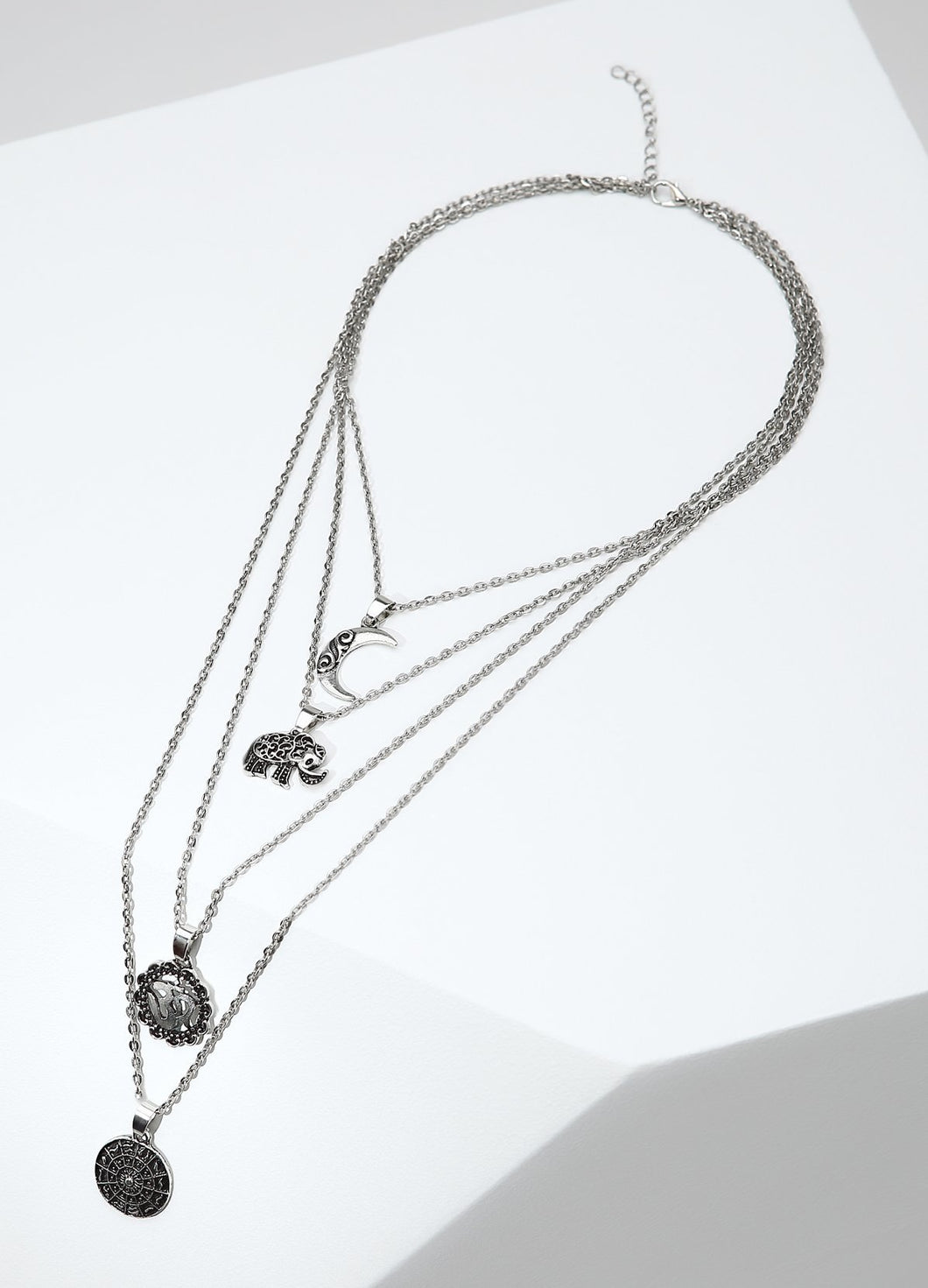 Moon Happiness Necklace Necklaces - FIACCI