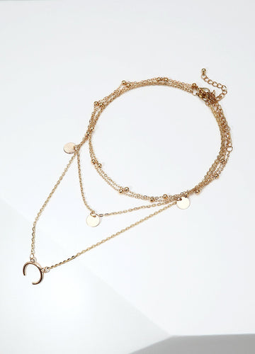 Pretty As A Picture Necklace (gold) Necklaces - FIACCI