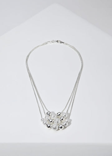 Silver Bubbles Necklaces - FIACCI