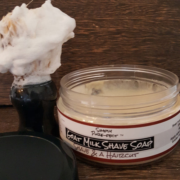 Goat Milk Shave Soap for Him - Simply Pure-fect, Inc.