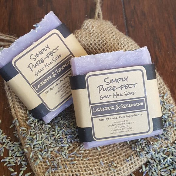 Lavender & Rosemary - Simply Pure-fect, Inc.