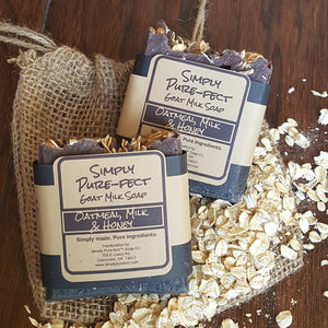 Oatmeal, Milk & Honey - Simply Pure-fect, Inc.