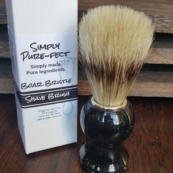 Shave Brush with Drying Stand - Simply Pure-fect, Inc.