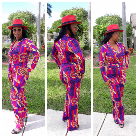 """MISS THANG"" Jumpsuit"