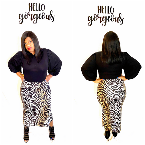 """EYE OF THE TIGER "" Skirt"
