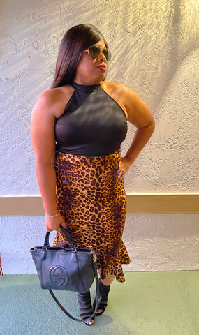 """GROWN WOMAN"" Leopard Dress"