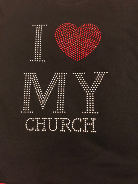 """ I Love My Church""  T- Shirt"