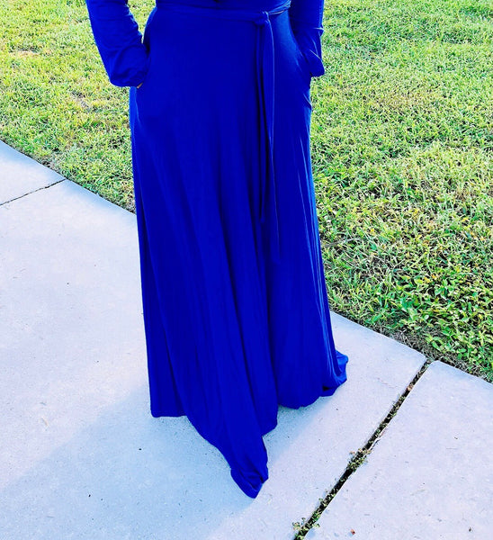 "'FANCY FRANCINE""  Mock Neck Maxi Dress"