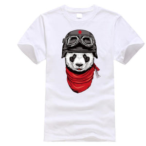 PANDA PILOT TEE (Multiple Colors)
