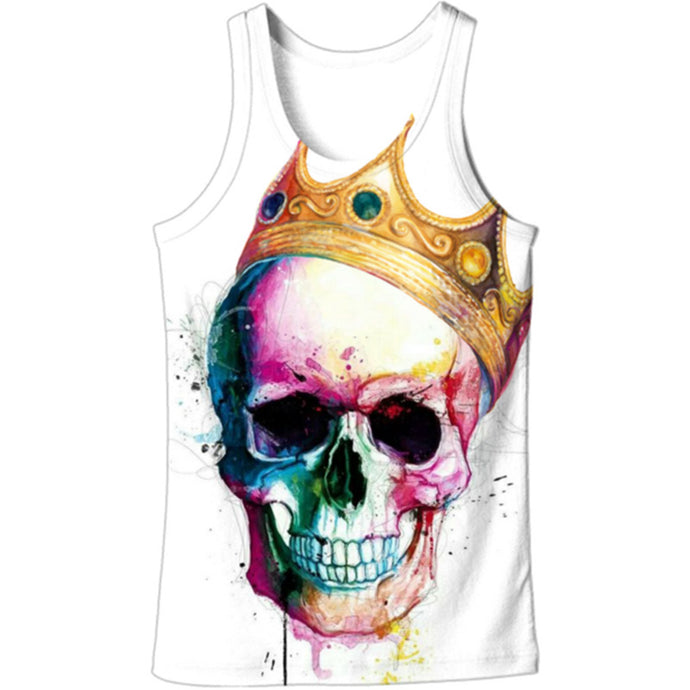 SKULL AND CROWN TANK
