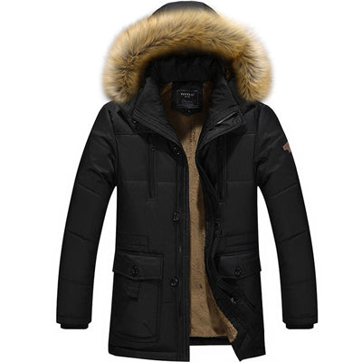 Men's Slim Fit Parka