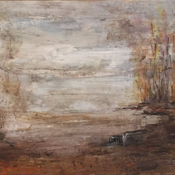 """Savannah"" by Liselena Dalla Corte, Acrylic on Canvas (Framed)"