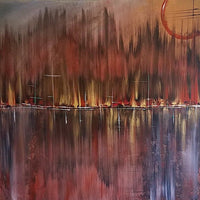 """The Wayward"" by Tondra Philana, Acrylic with Gloss Varnish"