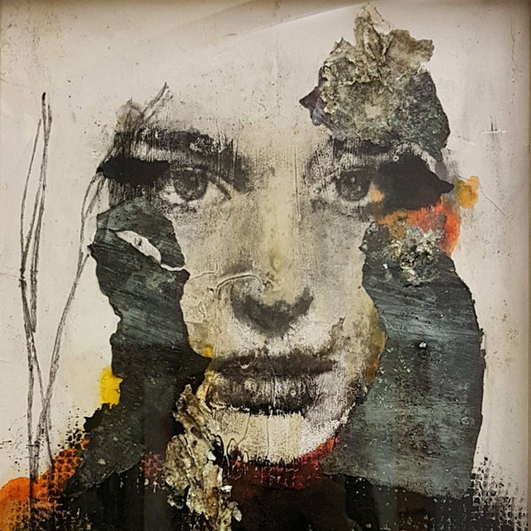 """Terra"" by Simona Fedele, Mixed Media on Wood"