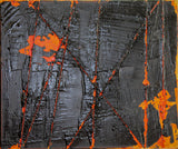 """Lava"" by Lance Young, Mixed Media on Canvas"