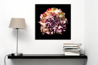 """Rainbow Flower"" by Adrienne Anbinder, Museum Quality Canvas Print"