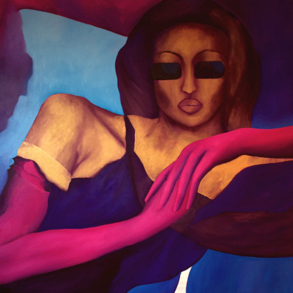 """Vogue Women Series 1"" by Anwar Taimuri, Oil on Canvas"