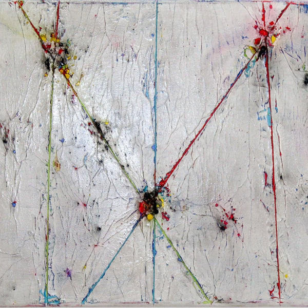 """Interactions #3"" by Lance Young, Mixed Media on Canvas"