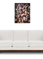"""Mosh Pit"" by Aleksandra Wadas, Mixed Media on Canvas"