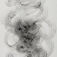 """Series 5 INK5.2"" Jean-Francois Escande, Ink on Paper"