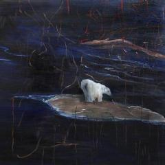 """Arctic"" by Katie Dahl, Oil on Canvas"