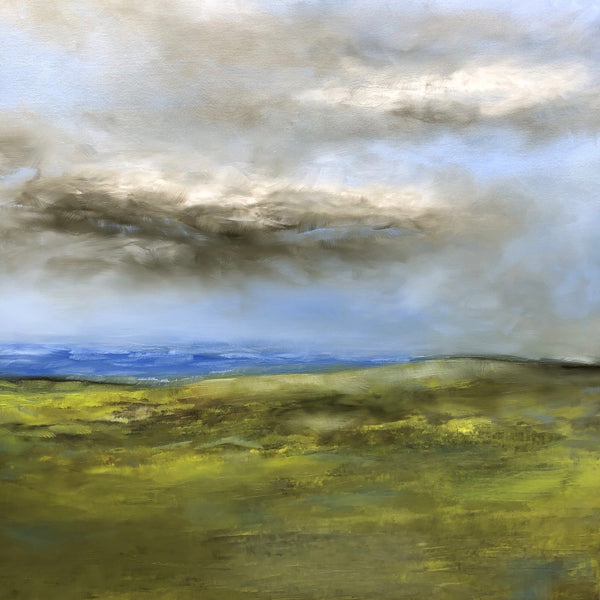 """Irish Sea"" by Shawn Marshall, Oil on Canvas"